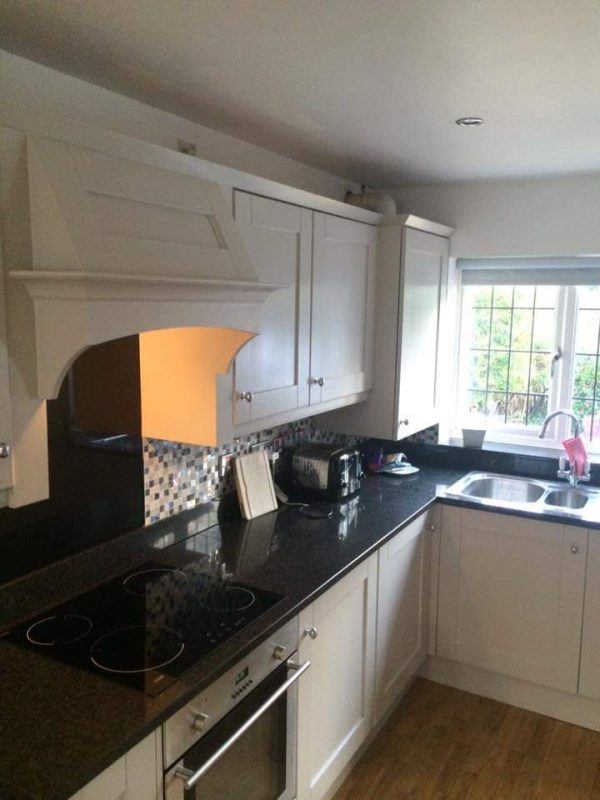hand painted kitchen wilmslow