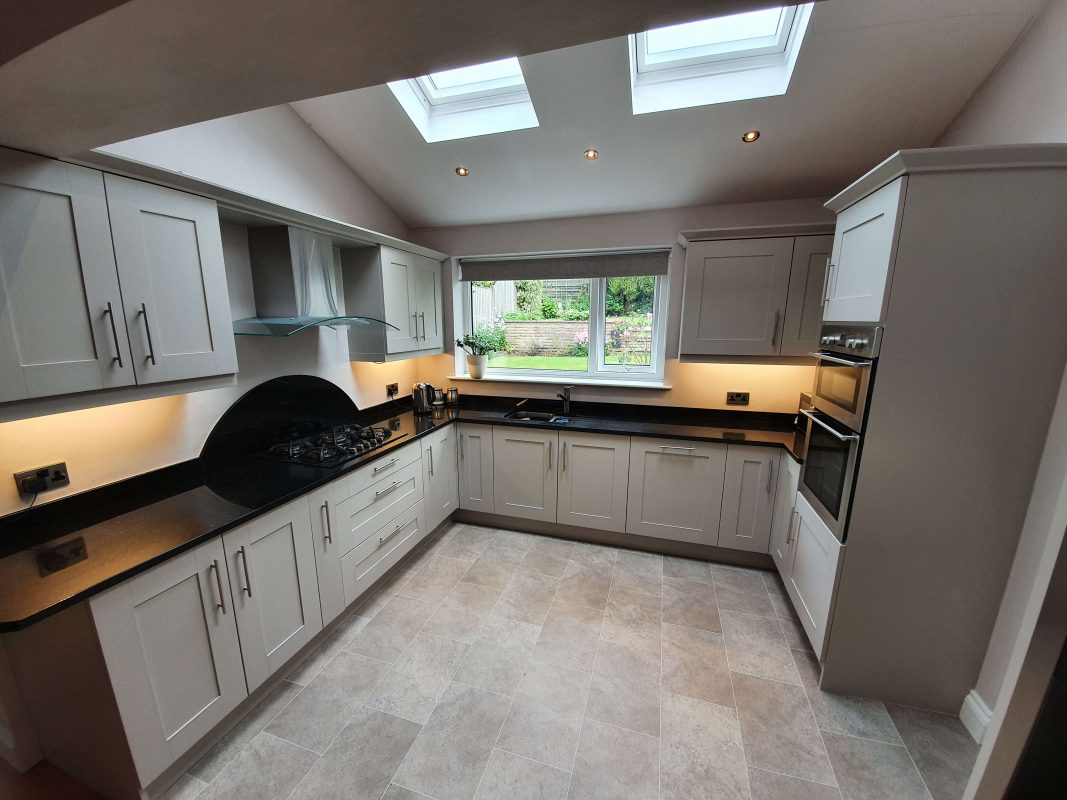 Hand Painted Kitchen Shaw and Crompton
